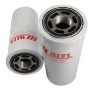 Filtre hydraulique pour tractopelle FIAT HITACHI FB 100.2 moteur NEW HOLLAND