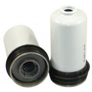Filtre à gasoil pour tracteur MASSEY FERGUSON 5613 DYNA 6 moteur AGCO POWER 2012-> 130 CH 4.4