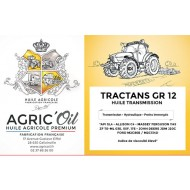 Huile transmission TRACTANS GR 12 - 60L