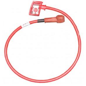 Câble de batterie positive 1100mm 50mm - Rouge