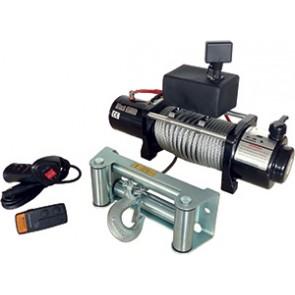 TREUIL ELECTRIQUE    12V 4300 KG/4000 W   LG CABLE 28METRES
