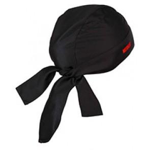 Bonnet à nouer dame anti-odeur noir, tai