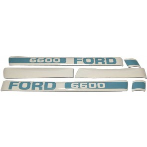 Kit Autocollant Ford/New Holland 6600