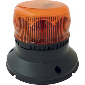 GYROPHARE  LED MERCURA ROTATIF EMBASE PLATE 10-30V ORANGE