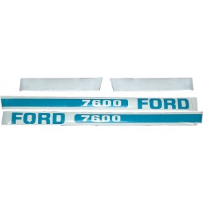 Kit Autocollant Ford/New Holland 7600