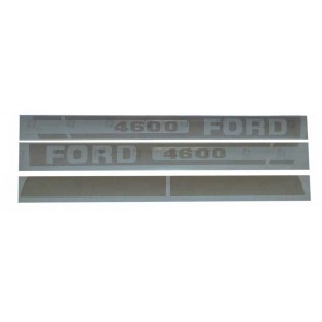 Kit Autocollant Ford/New Holland 4600