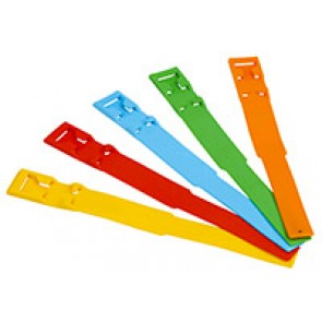 Bracelet plastique jaune