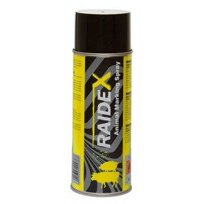 Spray Raidex jaune 400ml