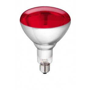 """Lampe IR """"Philips"""" 150W 240v rouge, v"