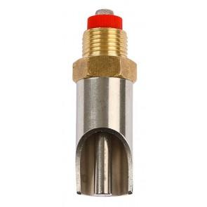 Sucette abreuvement laiton inox L=79mm,