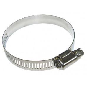 Colliers pour tuyaux diamètre 9,5mm - 12 mm acier inoxydable (Lot de 10)