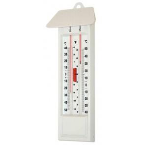 Thermomètre maxi-mini sans mercure