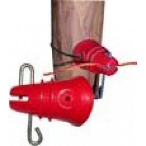 Isolant pour fil avec goupille et fixation par fil (poche de 25)