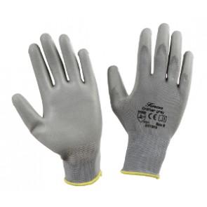 Gants de mécanique de précision gris, taille 11