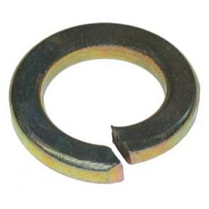 Zinc lourd Rondelle à ressort 3/4 'et jaune