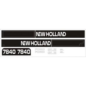 Kit Autocollant Ford NH 7840 (de 97)