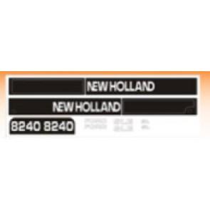 Kit Autocollant Ford NH 8240 ( à partir