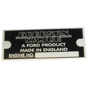 Tracteur Fordson Major Badge - Badge ID