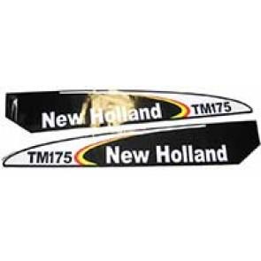 Sticker New Holland TM175 - Mise début T