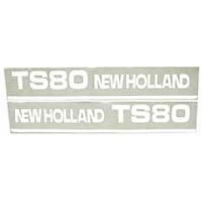 Sticker New Holland TS80 - Set