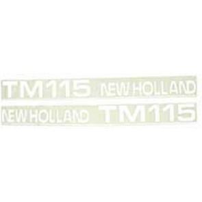 Sticker New Holland TM115 - Mise Ancien