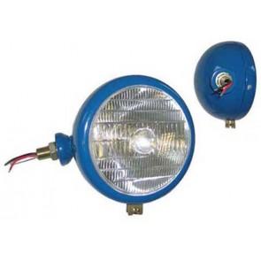 Tête de lampe Gauche Bleu BPF 40/45W Tracteur Logo