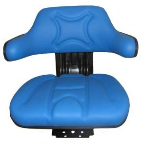 Siège tracteur Bleu avec base mobile