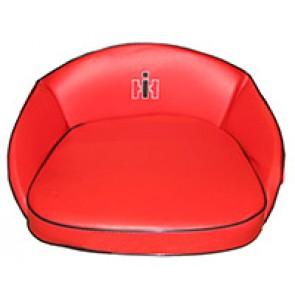 Coussin de siège avec logo, Rouge CASE IH