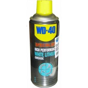 WD40 avec graisse blanche au lithium hautes performances