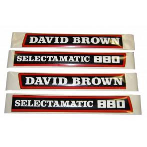 Kit Autocollant David Brown 880 Selectamatic