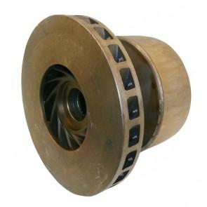 Tambour de frein Droit Diamètre 180mm Deutz-Fahr Agrostar, DX4, DX3, DX6, DX, Agroxtra