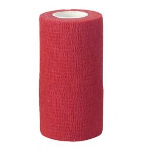 Bandage autocollant VetLastic 10cm rouge