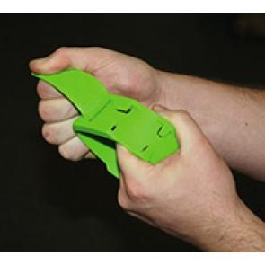 Bracelet plastique vert marquage vaches