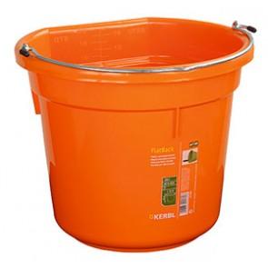 Seau FlatBack orange 18L