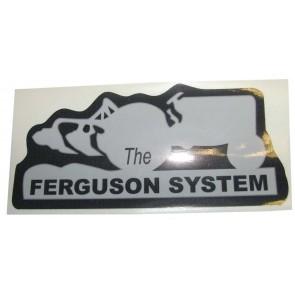 Autocollant Le système Ferguson