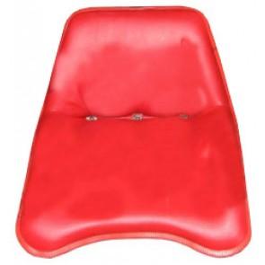 Siège rouge avec assise coulissante David Brown séries 1200, 1400, 800, 900