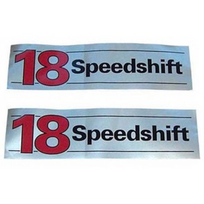 Autocollant 18 Speedshift
