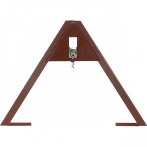 Triangle d'attelage côté outil