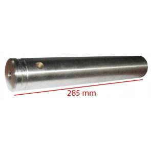 Axe de l'essieu avant MF 165 188 - long 285mm
