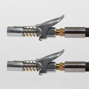 KIT 2 embouts à verrouillage automatique M10 pour pompe à graisse 690 BARS