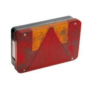 Feu droit avec éclaireur de plaque