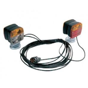 Equipement de signalisation avant et arrière fixation magnétique