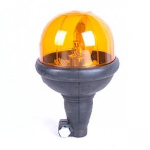 Gyrophare 12/24V à vis - Tige flexible