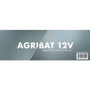 BATTERIE 12V/155AH/950EN/BORNE+G 514x218x210