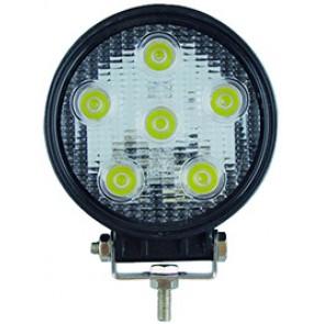 FEU 6 LEDS 18W 30°ROND 116MM 12/24V (BOX