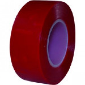 2 RUBANS PVC ROUGE 19MM X10 M