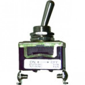 Interrupteur à levier métallique 2 positions