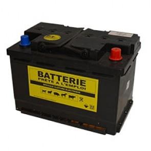 BATTERIE DE CLOTURE ELECTRIQUE 12V 60A 245X175X190 BORNE+D