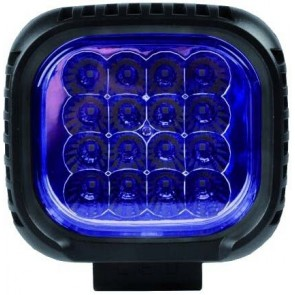 PHARE LED BLEU CARRE 12/24V 45W SPECIAL