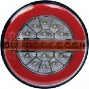 FEU ARRI.ROND DYNAMIQUE 3 FONCTIONS LED